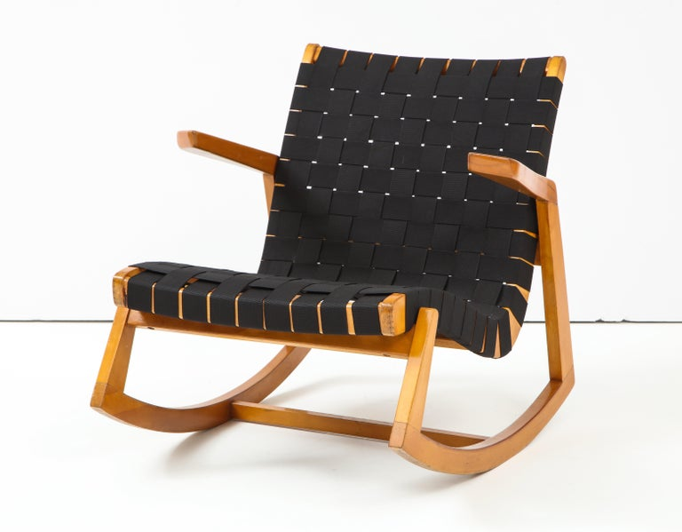 Mid-Century Modern Early Ralph Rapson Rocker for Knoll For Sale