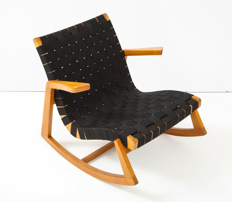 American Early Ralph Rapson Rocker for Knoll For Sale