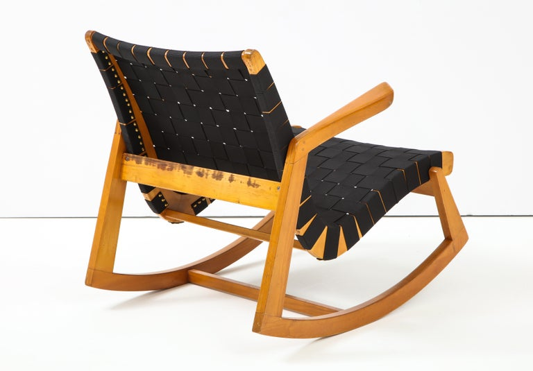Mid-20th Century Early Ralph Rapson Rocker for Knoll For Sale