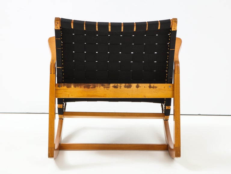 Early Ralph Rapson Rocker for Knoll For Sale 1