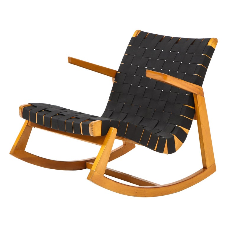 Early Ralph Rapson Rocker for Knoll For Sale