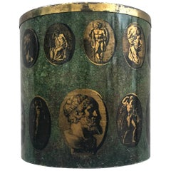 Early Rare 1950s Fornasetti Wastebasket