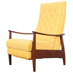 Early Reclining Lounge Chair by Milo Baughman