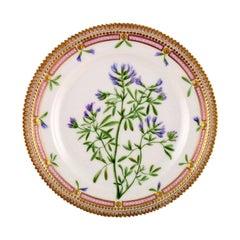 Early Royal Copenhagen Flora Danica Lunch Plate, 1894-1900
