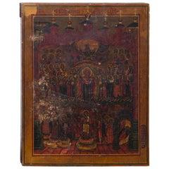 Early Russian Orthodox Church Icon