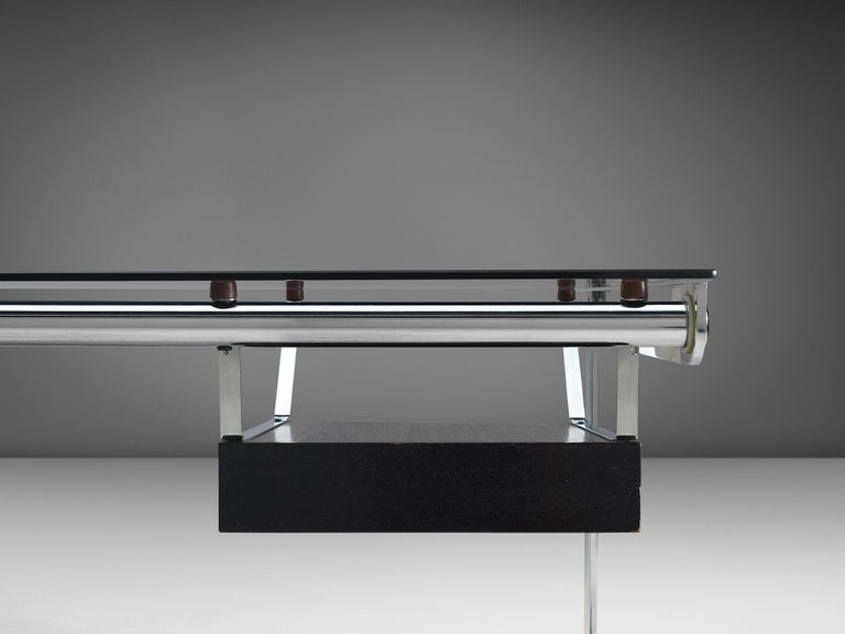 Steel Early Serie 'Kit' Desk by Gilles Bouchez for Airborne For Sale