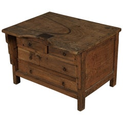 Early Shoemaker's Table from France, circa 1900