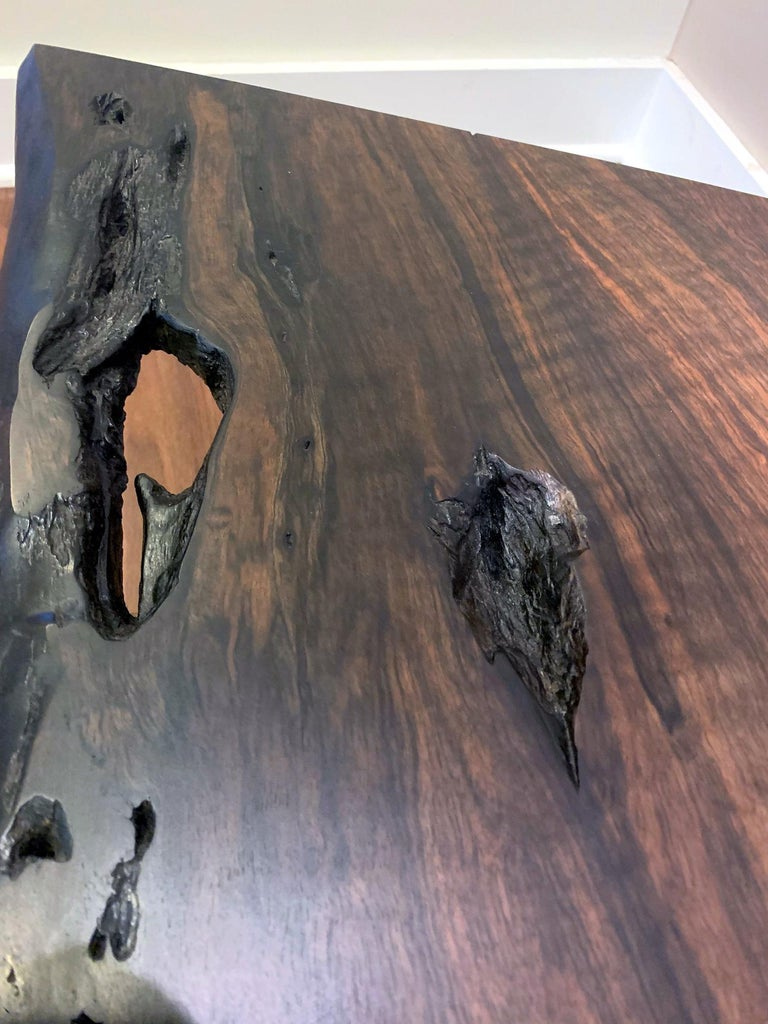 Early Slab Walnut Coffee Table George Nakashima For Sale 4