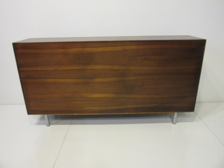 Early Smaller George Nelson Credenza / Console / Bookcase for Herman Miller For Sale 3