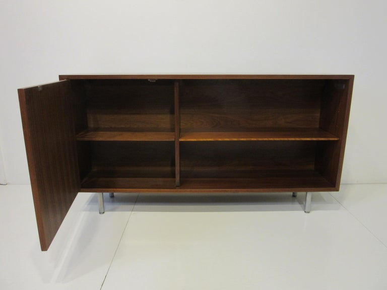 Mid-Century Modern Early Smaller George Nelson Credenza / Console / Bookcase for Herman Miller For Sale