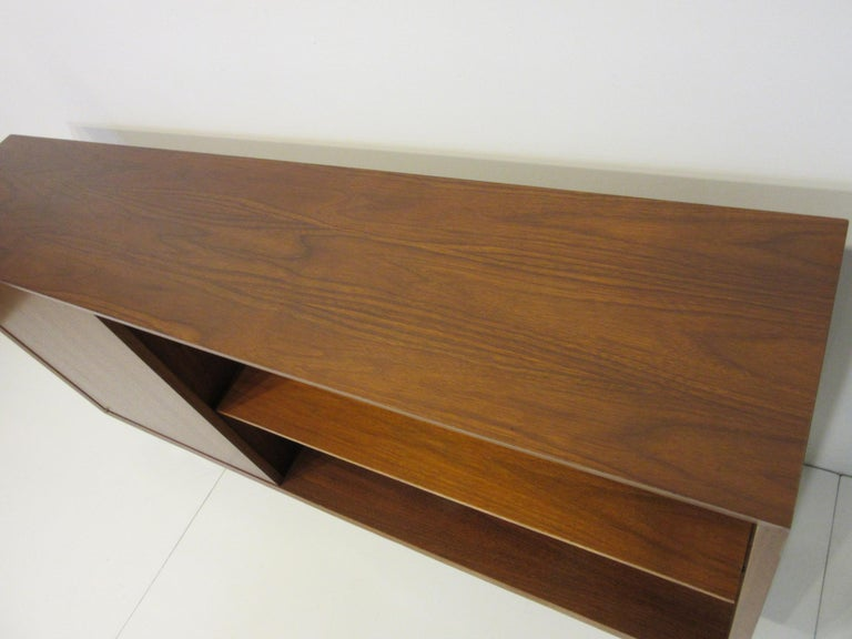 Early Smaller George Nelson Credenza / Console / Bookcase for Herman Miller In Good Condition For Sale In Cincinnati, OH