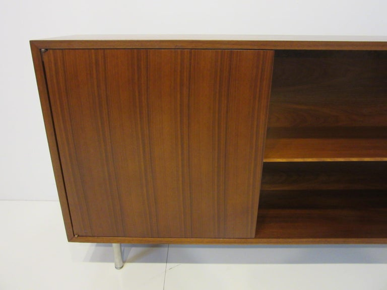 Early Smaller George Nelson Credenza / Console / Bookcase for Herman Miller For Sale 1