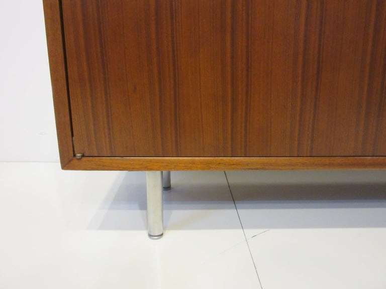 Early Smaller George Nelson Credenza / Console / Bookcase for Herman Miller For Sale 2
