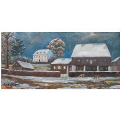 """Early Snow"" Painting by Richard Chalfant"