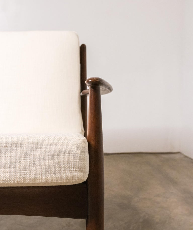 Early Sofa by Grete Jalk for France and Daverkosen In Excellent Condition For Sale In St. Louis, MO