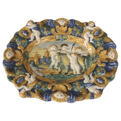 Early Style Decorative Plate