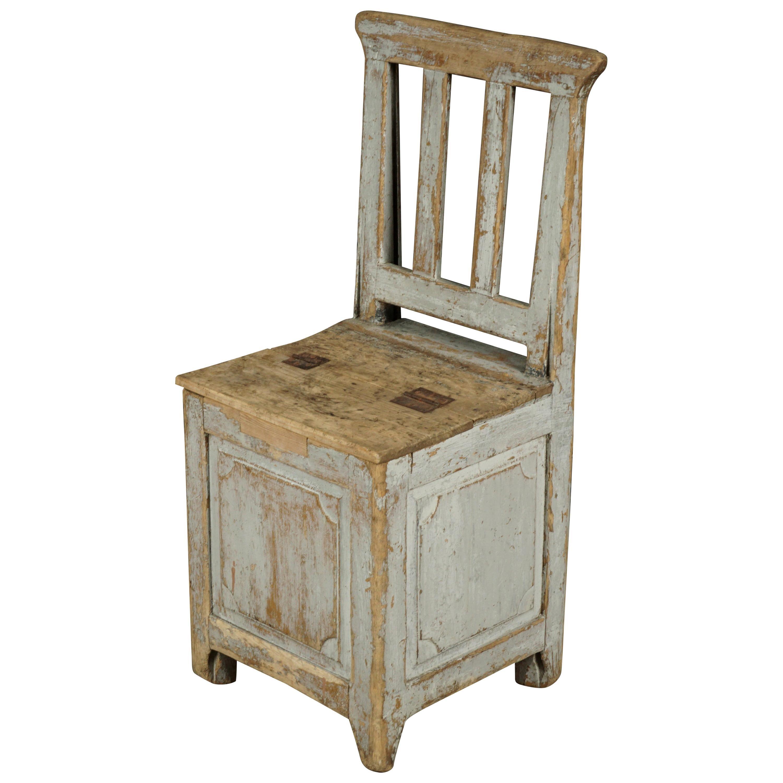 """Early Swedish """"Hay"""" Chair, circa 1880"""
