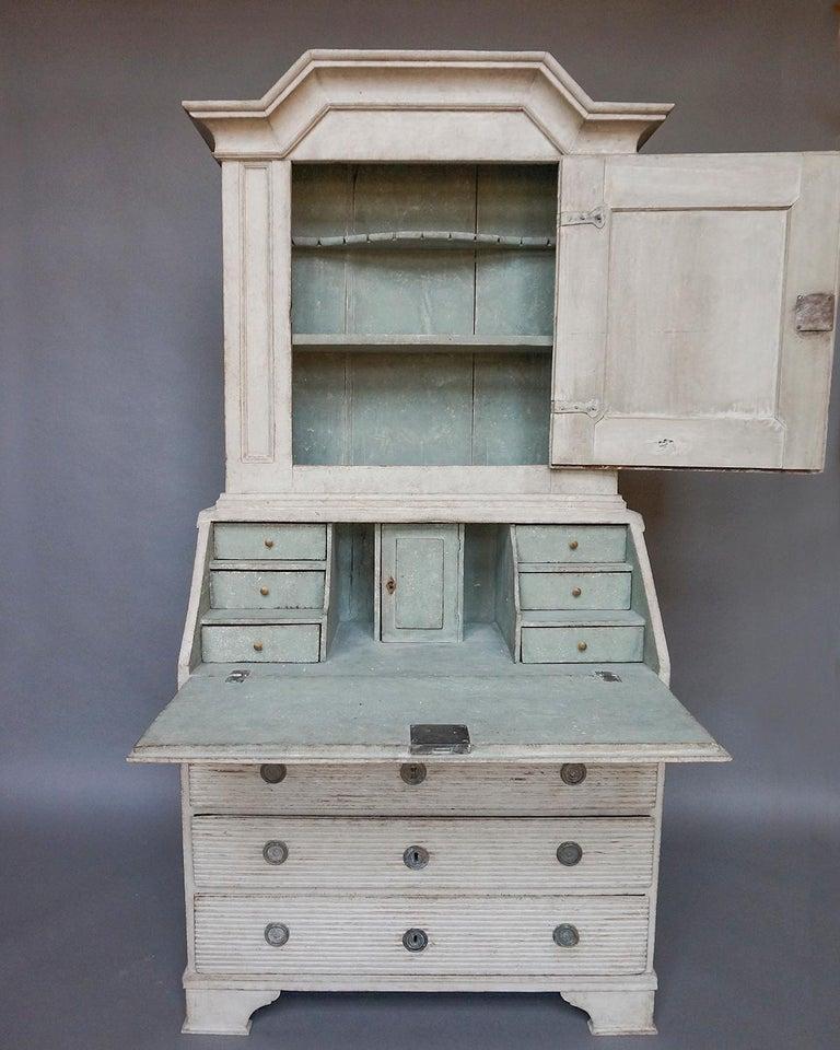 Gustavian Early Swedish Secretary For Sale