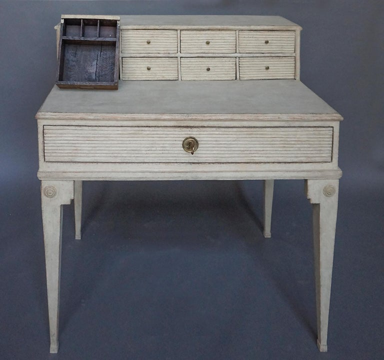 Neoclassical Early Swedish Writing Desk For Sale