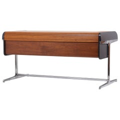 Early Tambour Roll-Top Desk by George Nelson for Herman Miller, 1960s