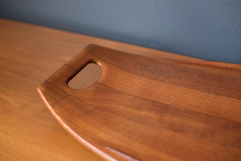 Danish Early Teak Dansk Serving Tray by Jens Quistgaard For Sale