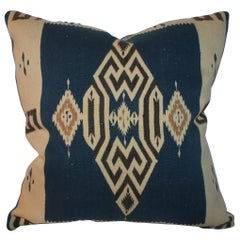 Early Tex Coco Indian Weaving Pillow