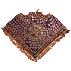 Early to Mid-20th Century Embroidered Tribal Horse or Camel Head Cover, India