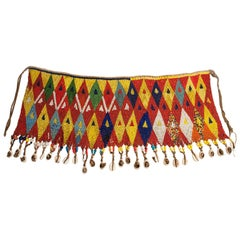 Early to Mid-20th Century Tribal Beaded Cache-Sex Modesty Apron, Cameroon