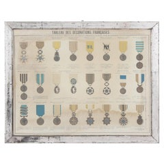 Early 20th Century Decorative French Medals Print