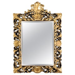 Early 20th Century Italian Giltwood Wall Mirror