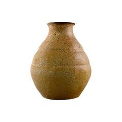 Early Unique Patrick Nordstrom, Own Workshop, Pottery Vase, 1910s