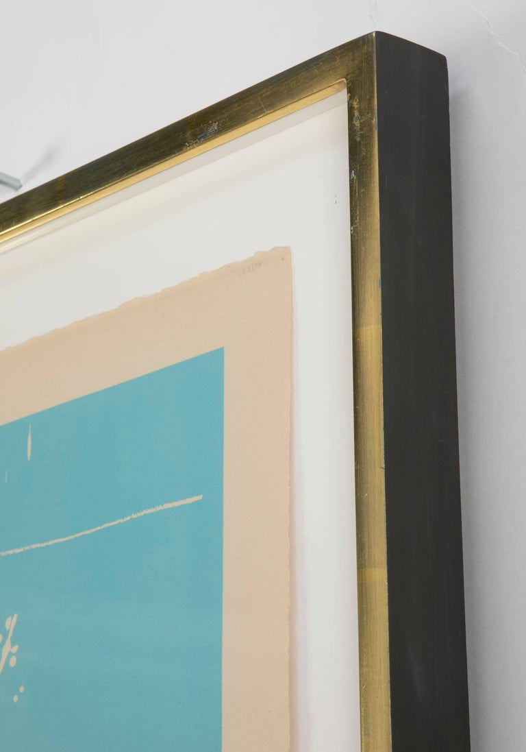 Mid-20th Century Early Untitled Lithograph by Robert Motherwell For Sale