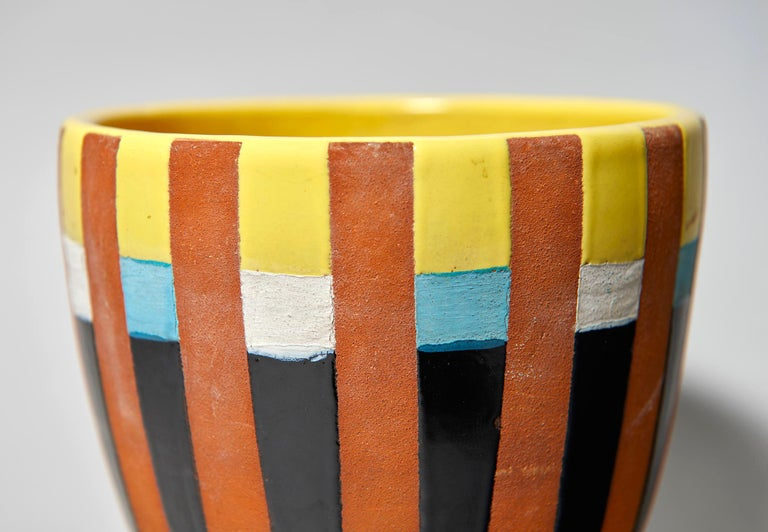 Modern Bitossi Vase Attributed to Ettore Sottsass, circa 1958 For Sale