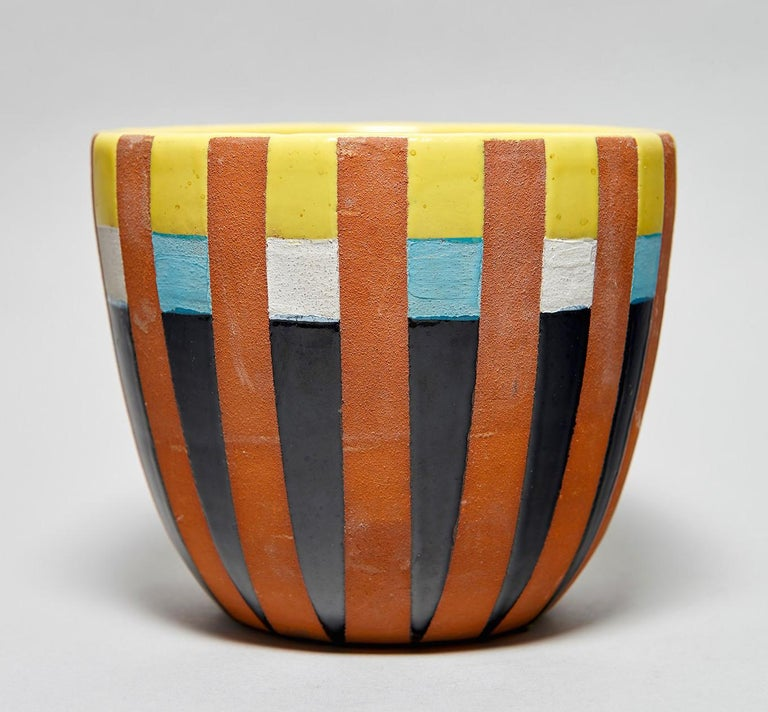 Italian Bitossi Vase Attributed to Ettore Sottsass, circa 1958 For Sale
