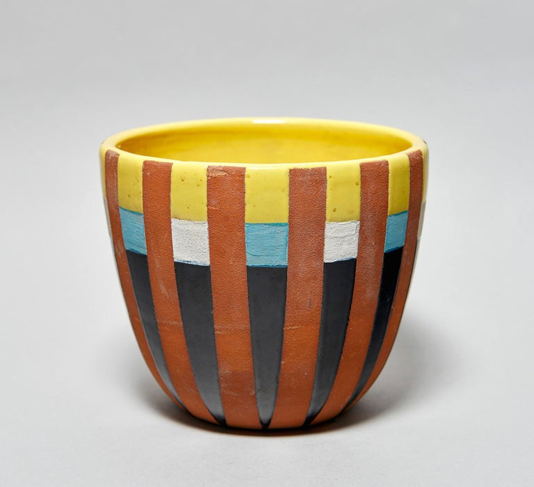 Mid-20th Century Bitossi Vase Attributed to Ettore Sottsass, circa 1958 For Sale