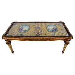 Early Venetian Neo-Classical Style Hand Painted Coffee Table