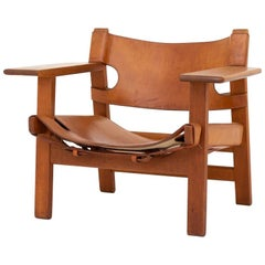 Early Version Spanish Chair by Børge Mogensen