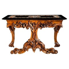 Early Victorian Ashford Marble Table