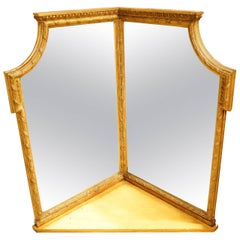 Early Victorian Corner Mirror by Charles Nosotti.