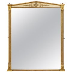 Early Victorian Giltwood Wall Mirror