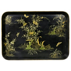 Early Victorian Papier Mache Tray