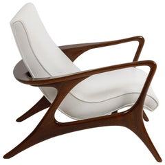Early Vladimir Kagan 'Contour' Lounge Chair