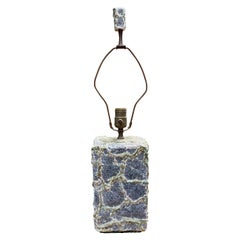 Early Volcanic Brutalist Plaster Lamp