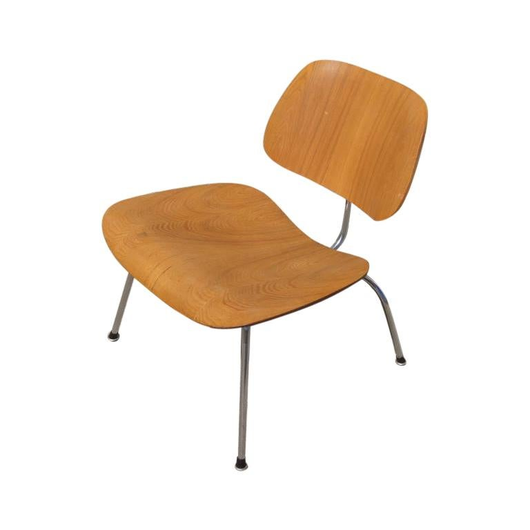 Early Walnut LCM Chair by Charles and Ray Eames for Herman Miller