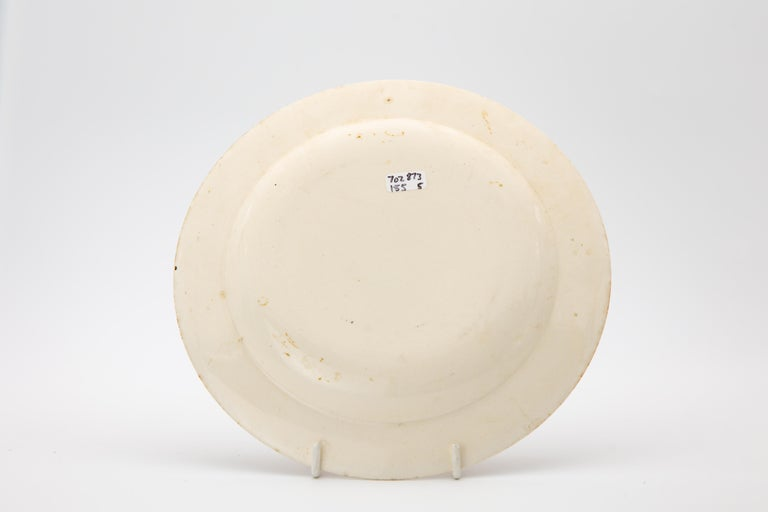 Early Wedgwood Neoclassical Creamware Dessert Dishes Made circa 1780 For Sale 5