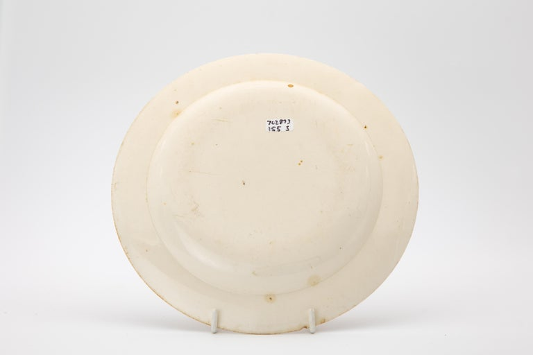 Early Wedgwood Neoclassical Creamware Dessert Dishes Made circa 1780 In Good Condition For Sale In Fort Lauderdale, FL