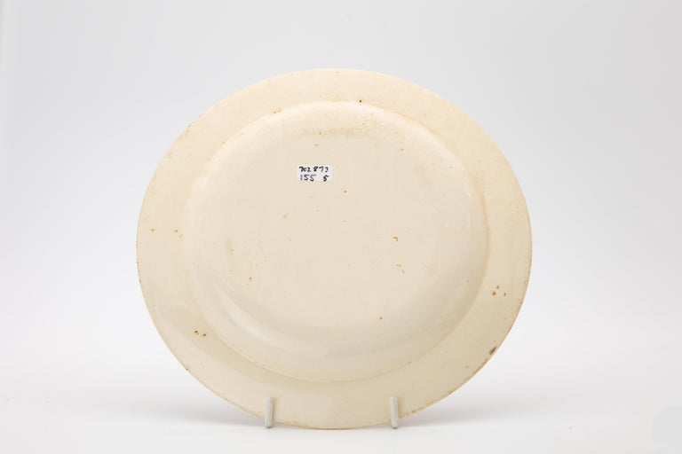 Early Wedgwood Neoclassical Creamware Dessert Dishes Made circa 1780 For Sale 1