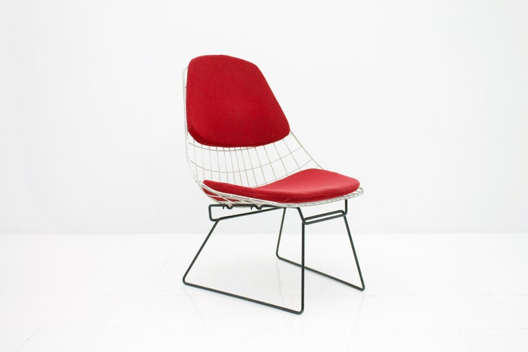 Scandinavian Modern Early Wire Chair by Cees Braakman for Pastoe, 1958 For Sale