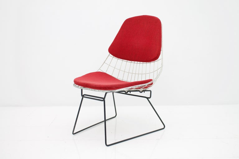 Dutch Early Wire Chair by Cees Braakman for Pastoe, 1958 For Sale