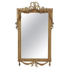 Early XXth Century Giltwood Mirror